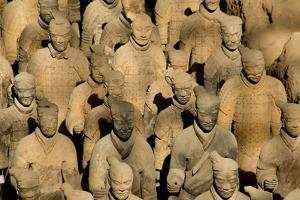 Terracotta Soldiers UNESCO World Heritage Site by Darrell Gulin