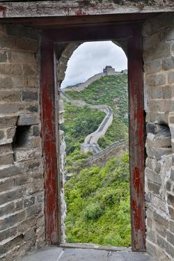 The Great Wall of China Jinshanling, China by Darrell Gulin