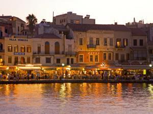 The Old Harbor, Chania, Crete, Greece by Darrell Gulin