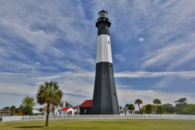 Tybee Island Lighthouse just to the east of Savannah, Georgia by Darrell Gulin