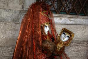 Venice, Italy. Mask and Costumes at Carnival by Darrell Gulin