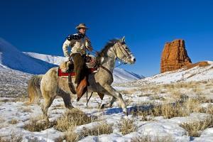 Wyoming Cowboy by Darrell Gulin