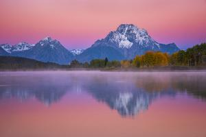 Belt of Venus at Oxbow by Darren White Photography