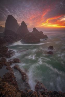 Christmas Sunset by Darren White Photography