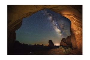 Double Arch Milky Way Views by Darren White Photography