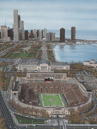 Chicago's Soldier Field by Darryl Vlasak