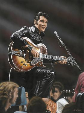 Elvis in Leather by Darryl Vlasak