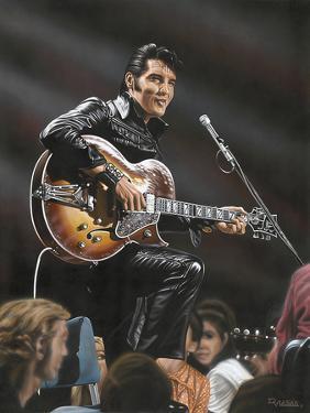 Elvis in Leather by Darryl Vlasak