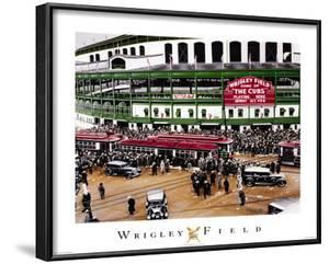 Wrigley Field, Chicago, Illinois by Darryl Vlasak