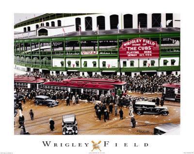 Wrigley Field by Darryl Vlasak