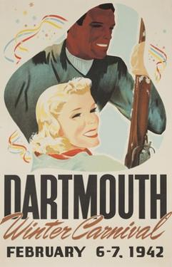 Dartmouth Winter Carnival Poster 1942