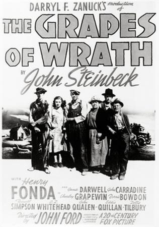 """Daryl F. Zanuck's Producion of """"The Grapes of Wrath"""" by John Steinbck"""