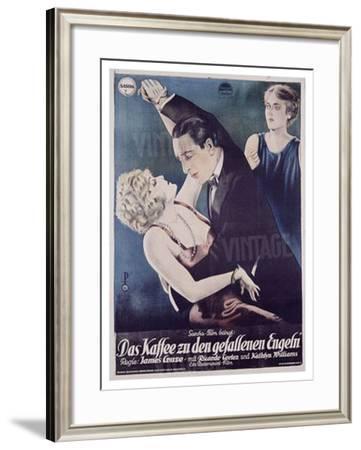Das Kaffee Zu Den Gef Engeln-Pollak-Framed Giclee Print