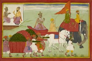 Dasaratha Sets Out For Anga