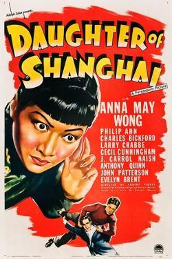 Daughter of Shanghai, Anna May Wong, Anthony Quinn, Philip Ahn, 1937