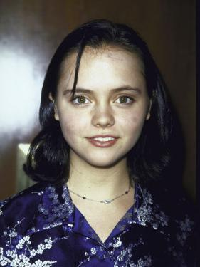 Actress Christina Ricci at Event by Dave Allocca