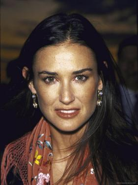 Actress Demi Moore at Talk Magazine Launch Party by Dave Allocca