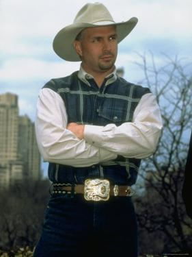 Country Singer Garth Brooks by Dave Allocca