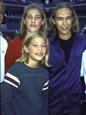 Members of Family Musical Group Hanson Taylor, Zach and Isaac by Dave Allocca