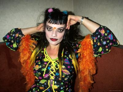 Singer Nina Hagen by Dave Allocca