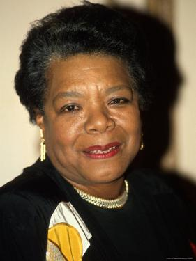 Writer/Actress Maya Angelou by Dave Allocca