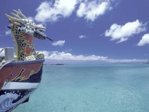 Dragon Boat, Okinawa, Japan by Dave Bartruff