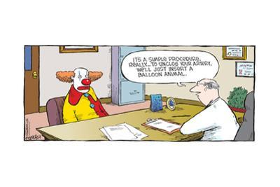 Speed Bump™ - It's a simple procedure, really … to unclog your artery, we'l by Dave Coverly