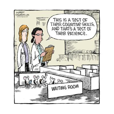 Speed Bump™ - This is a test of their cognitive skills, and that's a test o by Dave Coverly