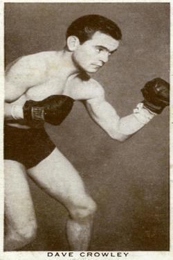 Dave Crowley, British Boxer, 1938