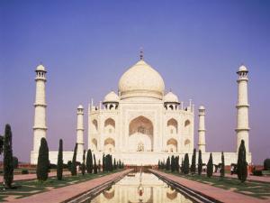 Uttar Pradesh, Agra Taj Mahal, India by Dave Jacobs