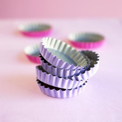 Pink and Purple Baking Tins