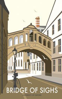 Bridge of Sighs, Oxford - Dave Thompson Contemporary Travel Print by Dave Thompson