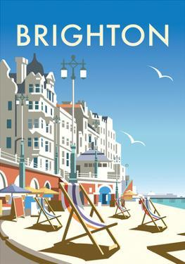 Brighton - Dave Thompson Contemporary Travel Print by Dave Thompson