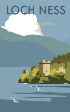 Loch Ness - Dave Thompson Contemporary Travel Print by Dave Thompson