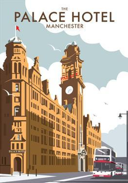 Manchester Palace Hotel - Dave Thompson Contemporary Travel Print by Dave Thompson