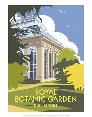 Royal Botanic Garden, Edinburgh - Dave Thompson Contemporary Travel Print by Dave Thompson
