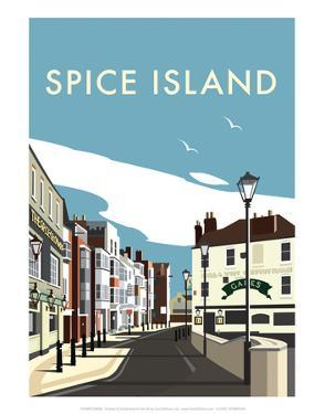 Spice Island - Dave Thompson Contemporary Travel Print by Dave Thompson