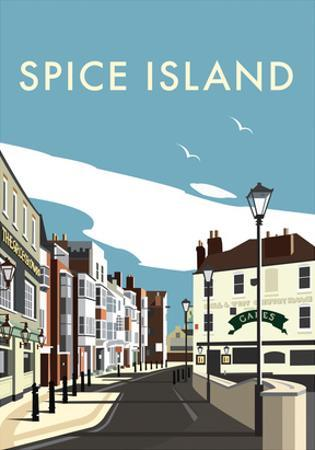 Spice Island - Dave Thompson Contemporary Travel Print