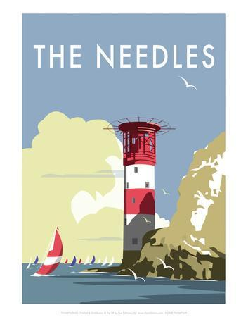 The Needles - Dave Thompson Contemporary Travel Print