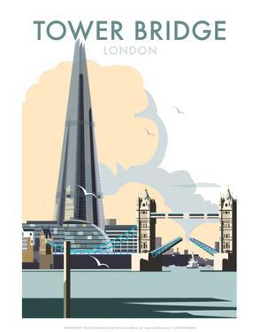Tower Bridge - Dave Thompson Contemporary Travel Print by Dave Thompson
