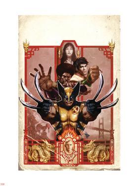 Wolverine: Manifest Destiny No.3 Cover: Wolverine by Dave Wilkins