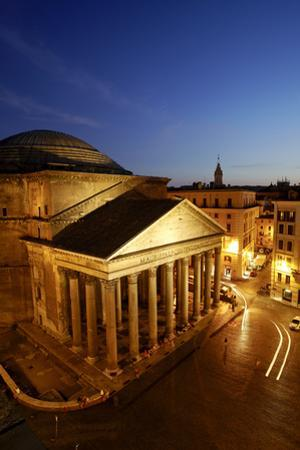 The Pantheon, Rome, Taken From the Albergo Del Senato Next to the Pantheon by Dave Yoder
