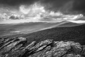 Blue Ridge Parkway Grandfather Mountain Rough Ridge Scenic Landscape Overlook by daveallenphoto