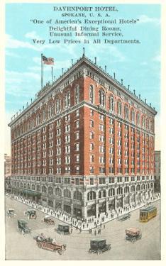Davenport Hotel, Spokane, Washington