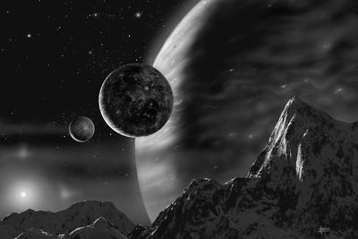 Exoplanet - Noir