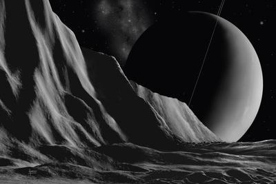 Ice Cliffs Of Miranda - Noir