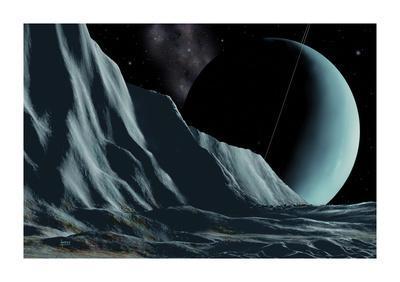 Ice Cliffs Of Miranda