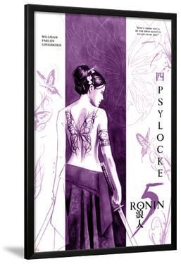 5 Ronin No.4 Cover: Psylocke by David Aja