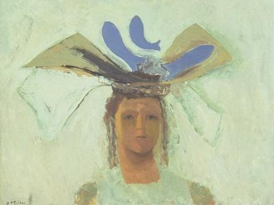Girl with Blue Fish