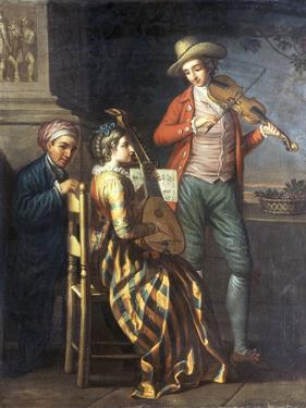 A Neapolitan Musical Party by David Allan